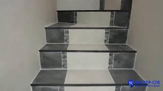 Ремонт лестницы в частном доме пос. Большие крупели