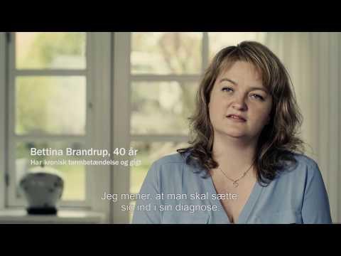 Kort film om patient med kronisk tarmbetændelse –Bettina