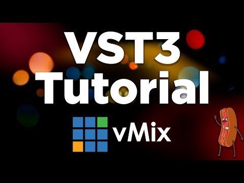Using VST3 audio plugins in your live stream- vMix Tutorial