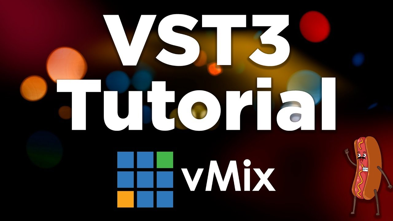 Using VST3 audio plugins in your live stream- vMix Tutorial