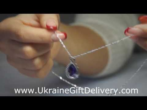 Beautiful Sterling Silver Jewelry for delivery in Ukraine