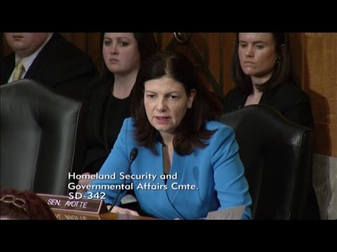 Ayotte Questions Experts on Drug Interdiction at Homeland Security Hearing