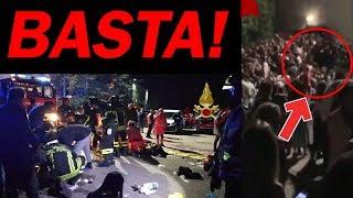 STRAGE LIVE SFERA EBBASTA: 6 Morti e molti feriti. SPIEGAZIONE. thumbnail