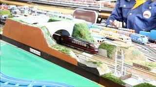 近鉄新型特急80000系ひのとり きんてつ鉄道まつりin塩浜にて