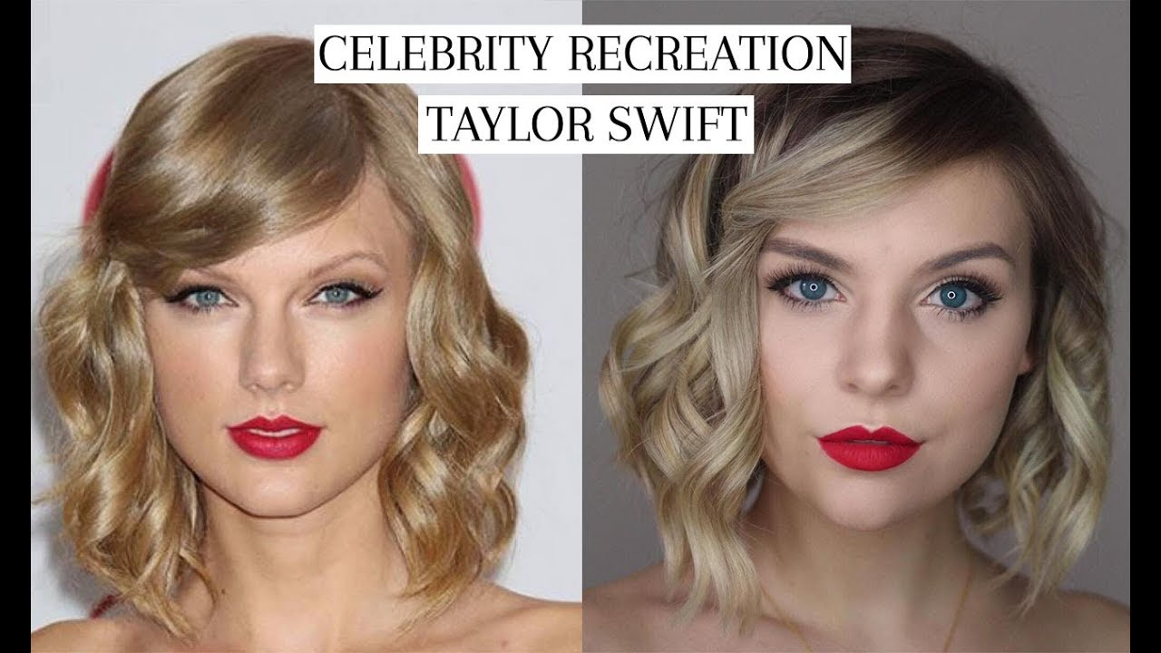 Taylor Swift Celebrity Look A Like Makeup Tutorial Blonde Ambitious Blog