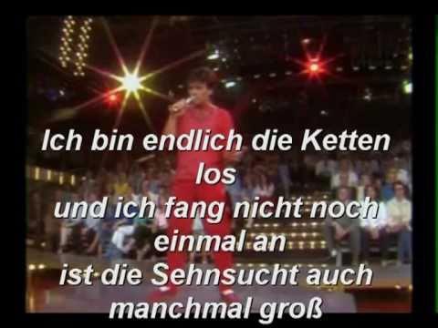 Karaoke,  Nino de Angelo,  Ich sterbe nicht nochmal ...