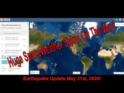 Earthquake Update May 31 2020!