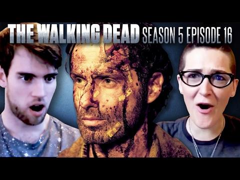 "The Walking Dead: Season 5 Finale ""Conquer"" Fan Reaction Compilation!"