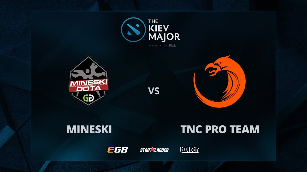 Mineski vs TNC, Game 1, The Kiev Major SEA Main Qualifiers Play-off