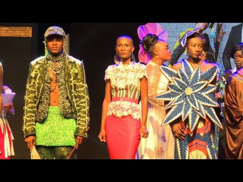African catwalk models step into the spotlight