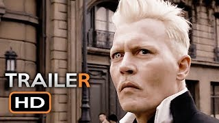 FANTASTIC BEASTS 2 Official Trailer 2 (2018) The Crimes of Grindelwald J.K. Rowling Movie HD
