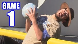 BROKEN BACK! | Offseason Kickball Series | Game 1