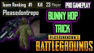 PUBG MOBILE MOVE FASTER TRICK// Bunny Hopping