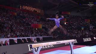 Simone Biles: The Best In The World On Balance Beam