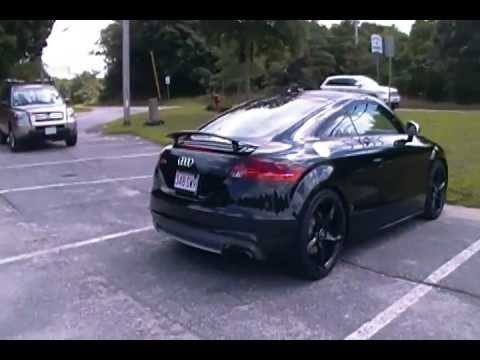 Random Black On Black Audi Tts Enjoying The Scenery Youtube