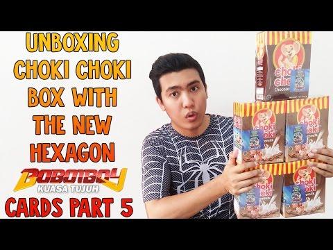Solar dan Thorn???!!! Unboxing Choki Choki Box With The NEW Boboiboy Kuasa Tujuh Cards Part 5