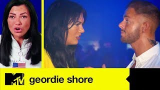 Abbie Denies Leading Adam On As The Lad Tries To Flirt With Her Again | Geordie Shore 18