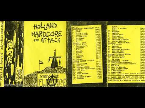 Various - Holland Hardcore 2nd Attack TAPE 1984