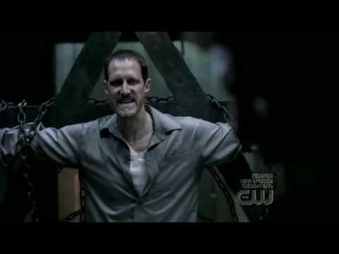 Supernatural Dean Torturing- Alistair singing Cheek to Cheek 4x16
