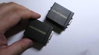 Удлинитель VGA по витой паре до 60 метров(, 2015-04-21T09:36:42.000Z)
