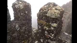 видео Замок мавров или Мавританский замок в Синтре. Португалия