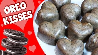 Chocolate For Kids | Oreo Hearts | Chocolate Oreo Kisses | Diy Easy And Fun Cooking Tutorial