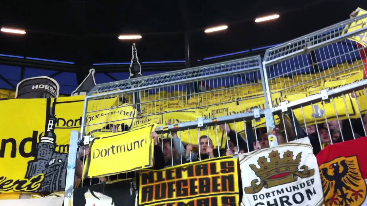Augsburg Dortmund 10.03.2012 Choreo