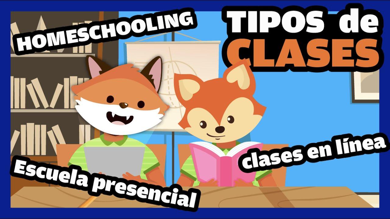 clases presenciales vs homeschool vs clases en línea 🦊  APRENDIENDO A SER PAPÁ... virtual