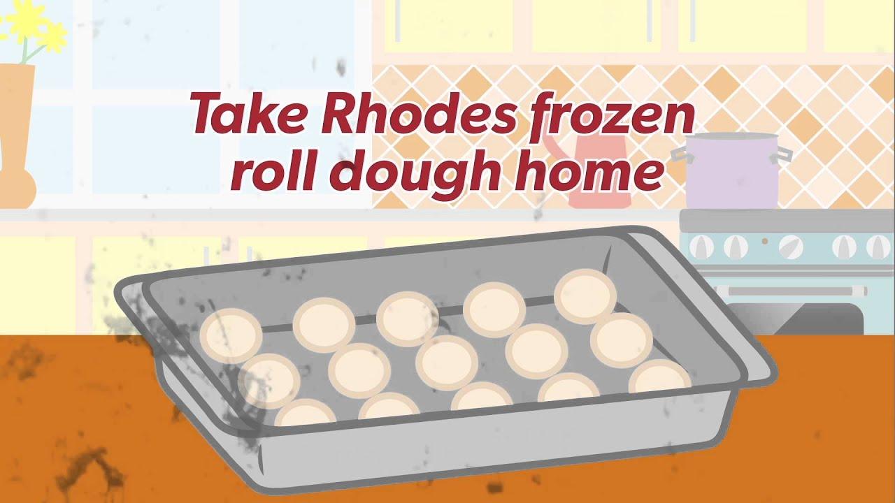 Fresh Frozen Rhodes Rolls Youtube