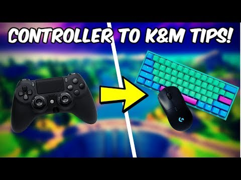 Tips For Switching To Keyboard & Mouse Fortnite!
