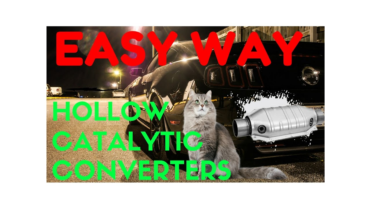 hight resolution of how to hollow out catalytic converters