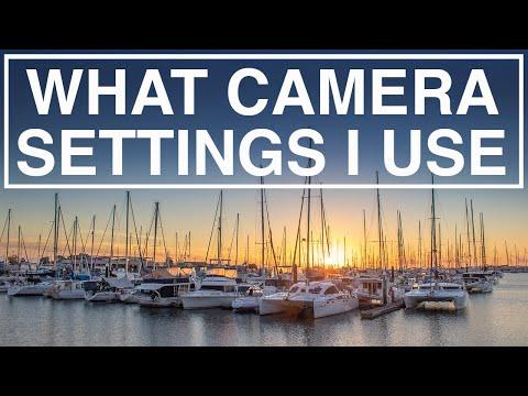 Camera Settings I Use