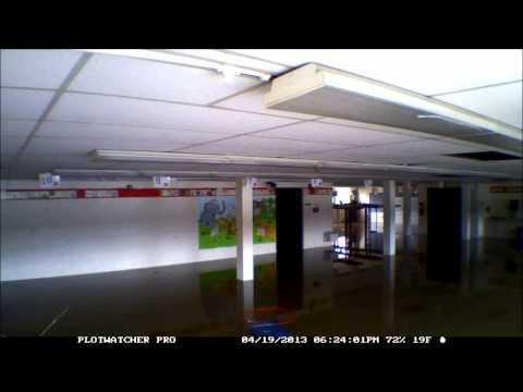 Gurnee Grade School Flooding TimeLapse April 17, 2013