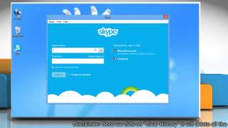 How to Delete Skype® Conversation History on Windows® 8 PC