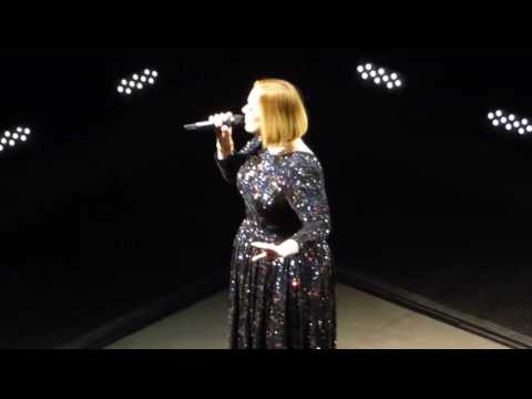 1/7 Adele - Hello (Intro) @ Verizon Center, Washington, DC 10/11/16