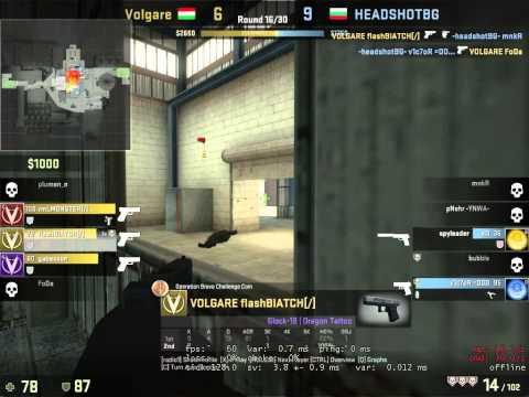 flash 5hs vs HSBG @Gaming Challenge Serbia 2014