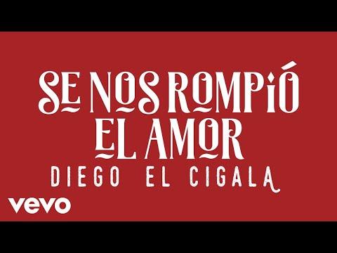 Diego El Cigala - Se Nos Rompió el Amor (Cover Audio)