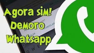 DEMOROU MAIS SAIU! Nova Função Anular mensagens no WhatsApp veja como ativar