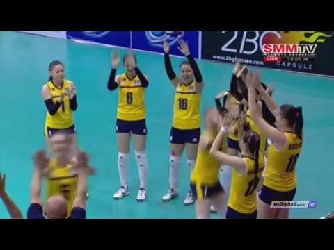 Korea vs Kazakhstan   2016 Asian Women