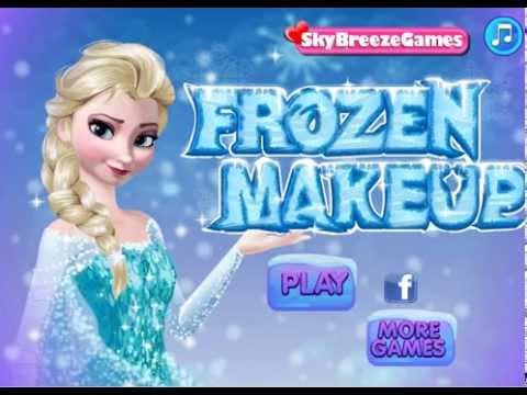 เกมส์แต่งหน้า แต่งตัว ราชินีหิมะ