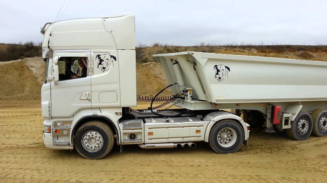 Connu Scania V8 R580 échappement libre sound - YouTube FR21