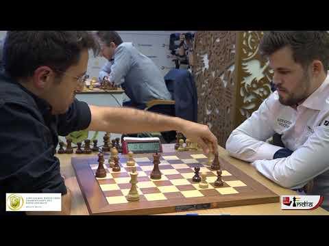 Shocking Queen Blunder | Aronian vs Carlsen | World Rapid 2019