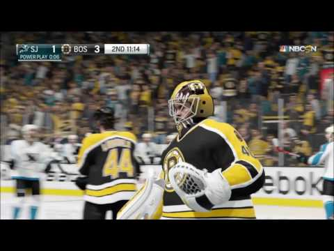 NHL 17 : STANLEY CUP FINALS - GAME 2 (season 2017-2018) : Boston Bruins - San Jose Sharks