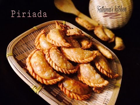 PIRIADA (POOADA) RECIPE. A TRADITIONAL SNACK