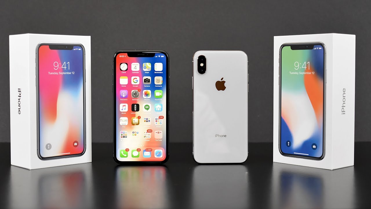 Apple IPhone X Unboxing Review All Colors