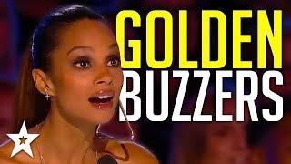 Judges GOLDEN BUZZERS   Alesha Dixon's Top Moments On Britain's Got Talent!   Got Talent Global