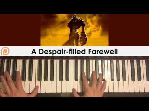 Shadow Of The Colossus OST - A Despair-filled Farewell (Piano Cover) | Patreon Dedication #179