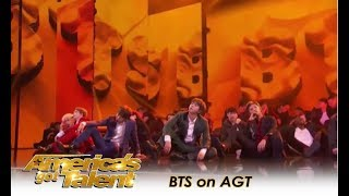 BTS on America's Got Talent FULL Performance! | America's Got Talent 2018