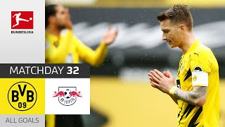 BVB keeps on dreaming of the CL! | BVB - Leipzig | 3-2 | All Goals | Matchday 32 - Bundesliga 20/21