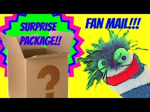 Fizzy Fan Friend Mail  - Surprise Packages!